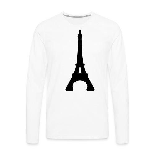 paris - Camiseta de manga larga premium hombre