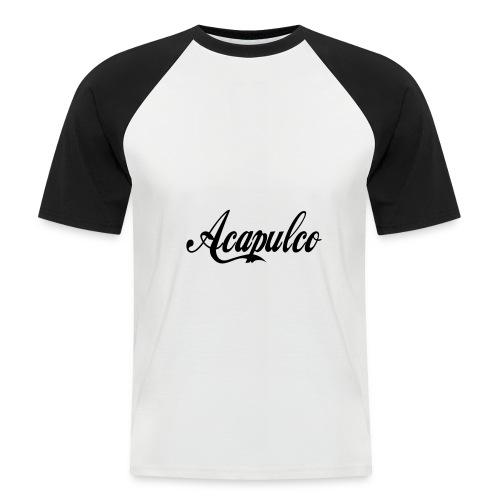 Acapulco - Camiseta béisbol manga corta hombre