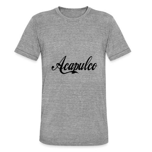 Acapulco - Camiseta Tri-Blend unisex de Bella + Canvas
