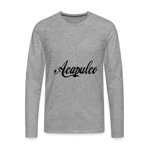 Acapulco - Camiseta de manga larga premium hombre