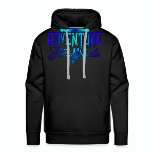 Adventure Tattoo Ice...Men's Slim Fit T-Shirt - Men's Premium Hoodie