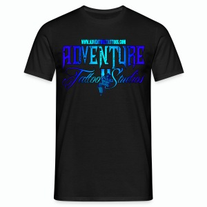 Adventure Tattoo Ice...Men's Slim Fit T-Shirt - Men's T-Shirt