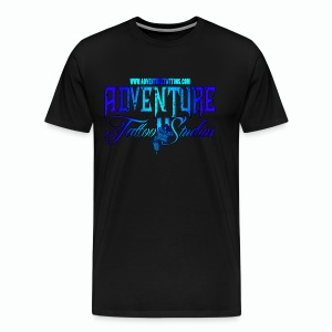 Adventure Tattoo Ice...Men's Slim Fit T-Shirt - Men's Premium T-Shirt