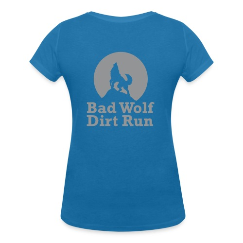 Bad Wolf Dirt Run - Frauen Bio-T-Shirt mit V-Ausschnitt von Stanley & Stella