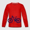 Bike MTB Freeride Fahrrad Langarmshirts - Teenager Premium Langarmshirt