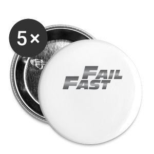 Fail Fast & Furious - Buttons small 25 mm