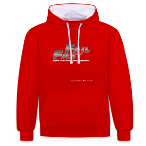 Fail Fast & Furious (Women) - Contrast Colour Hoodie