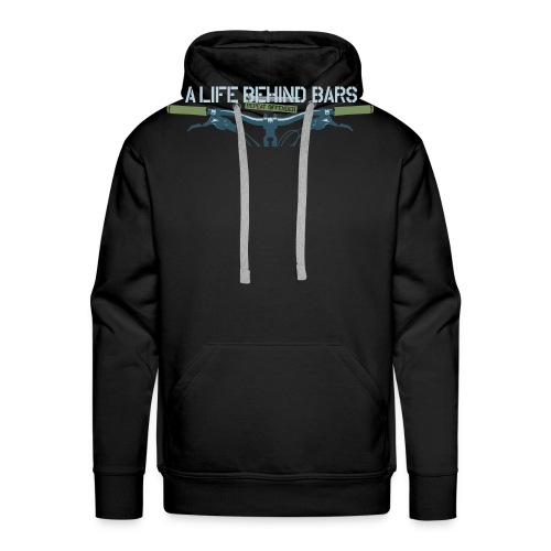 Mountain Bike T Shirt - Men's Premium Hoodie