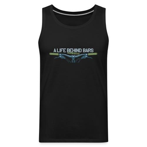 Mountain Bike T Shirt - Men's Premium Tank Top