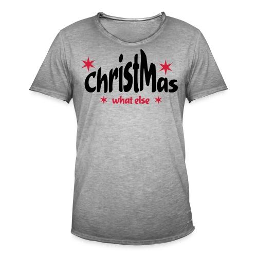 ChristMas - Männer Vintage T-Shirt