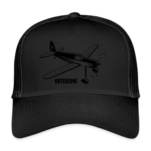 Outerzone t-shirt, black logo - Trucker Cap