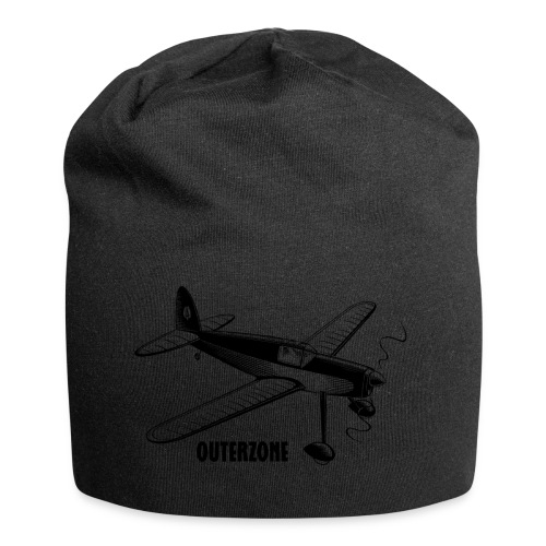 Outerzone t-shirt, black logo - Jersey Beanie