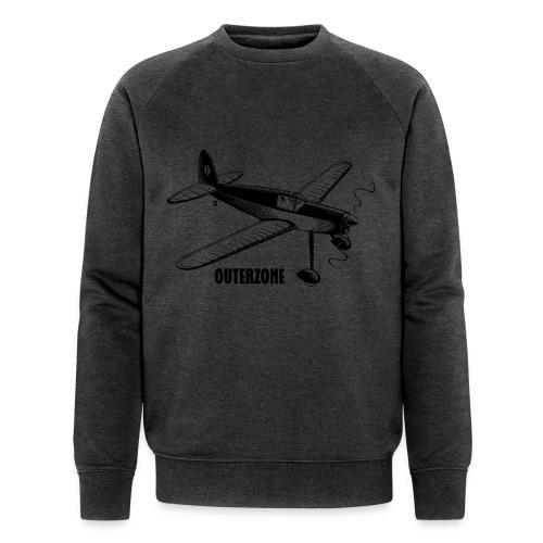 Outerzone t-shirt, black logo - Men's Organic Sweatshirt by Stanley & Stella