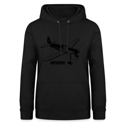 Outerzone t-shirt, black logo - Women's Hoodie