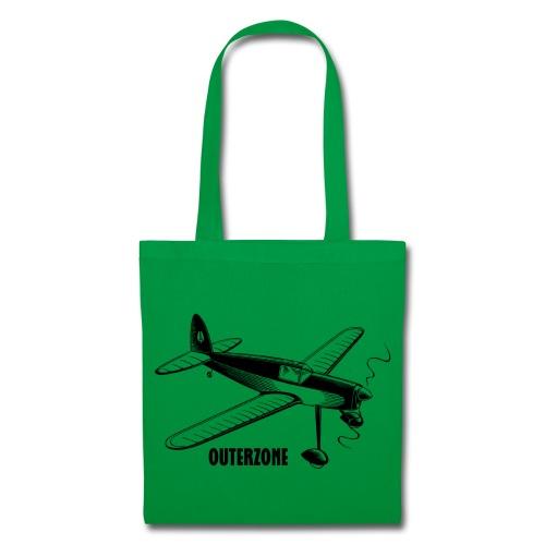 Outerzone t-shirt, black logo - Tote Bag