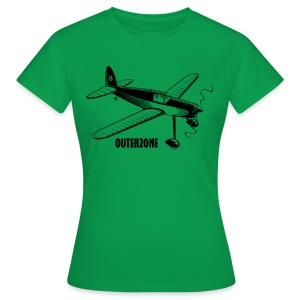 Outerzone t-shirt, black logo - Women's T-Shirt