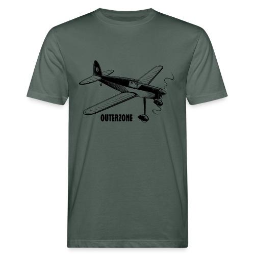 Outerzone t-shirt, black logo - Men's Organic T-Shirt
