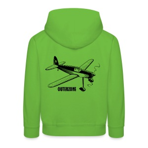 Outerzone t-shirt, black logo - Kids' Premium Hoodie