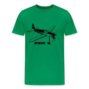 Outerzone t-shirt, black logo - Men's Premium T-Shirt