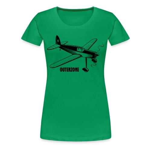 Outerzone t-shirt, black logo - Women's Premium T-Shirt