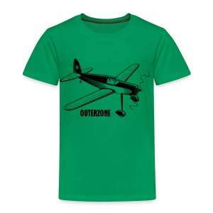 Outerzone t-shirt, black logo - Kids' Premium T-Shirt