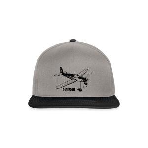 Outerzone t-shirt, black logo - Snapback Cap