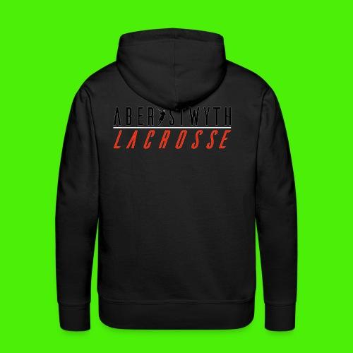 Aberystwyth Lacrosse T (Mens) - Men's Premium Hoodie