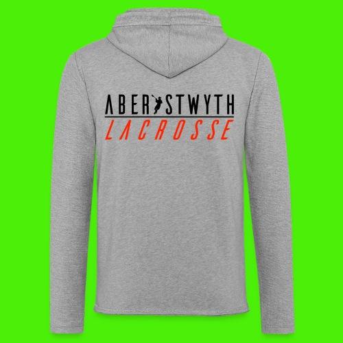 Unisex Aberystwyth Lacrosse Hoodie - Light Unisex Sweatshirt Hoodie