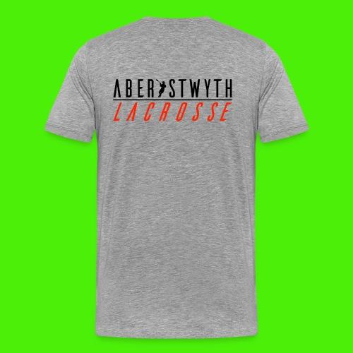 Unisex Aberystwyth Lacrosse Hoodie - Men's Premium T-Shirt