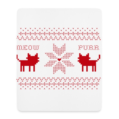 Christmas Cats - Alfombrilla de ratón (vertical)