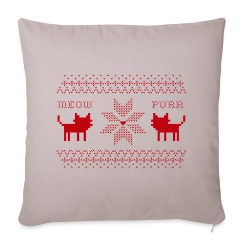Christmas Cats - Funda de cojín, 44 x 44 cm