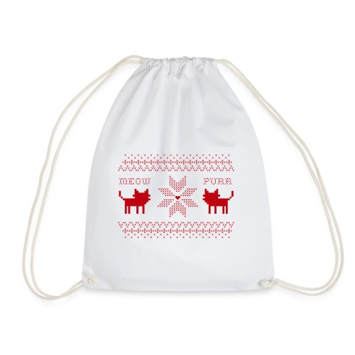 Christmas Cats - Mochila saco