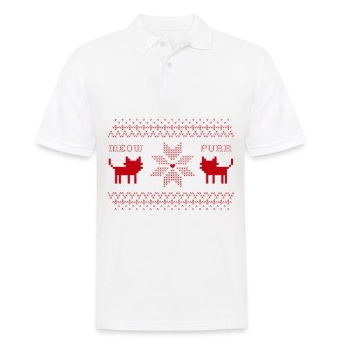 Christmas Cats - Polo hombre