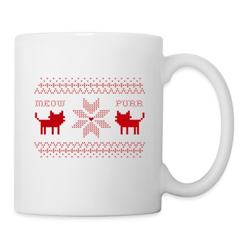 Christmas Cats - Taza