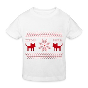 Christmas Cats - Camiseta ecológica niño