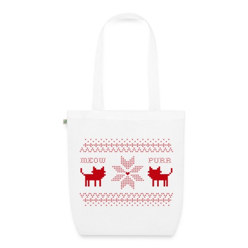 Christmas Cats - Bolsa de tela ecológica