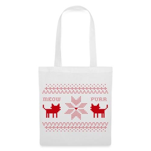 Christmas Cats - Bolsa de tela