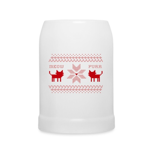 Christmas Cats - Jarra de cerveza