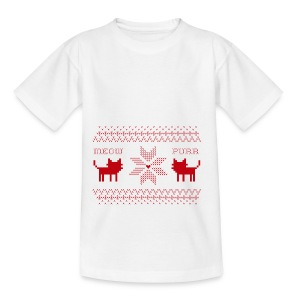 Christmas Cats - Camiseta adolescente