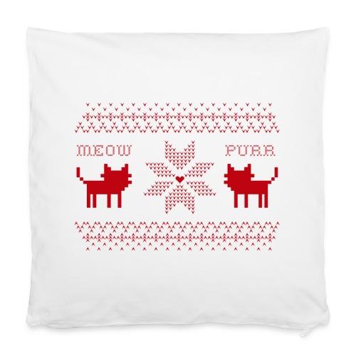 Christmas Cats - Funda de almohada 40 x 40 cm