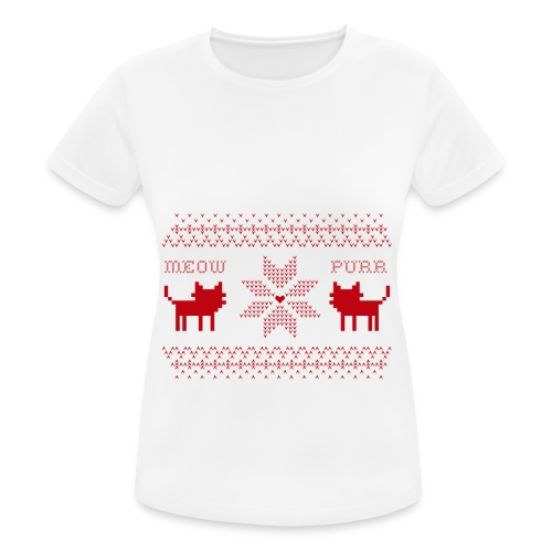 Christmas Cats - Camiseta mujer transpirable