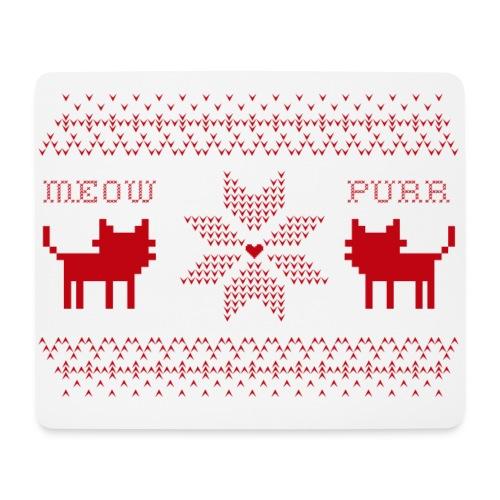 Christmas Cats - Alfombrilla de ratón (horizontal)