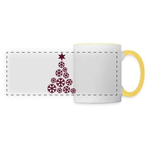 Sous-verres hiver - Mug panoramique contrasté et blanc