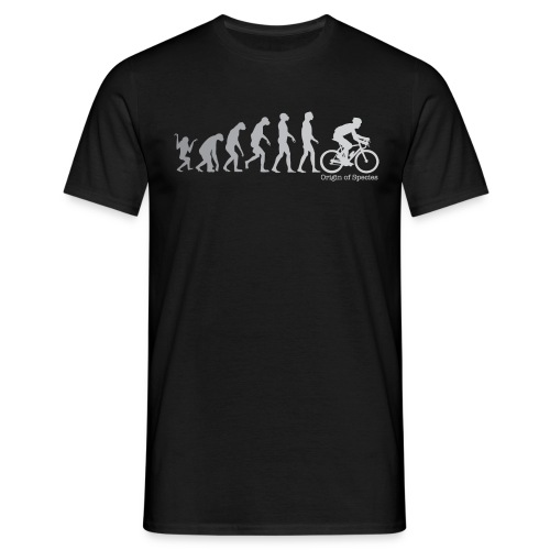 Evolution Cycling T Shirt - Men's T-Shirt