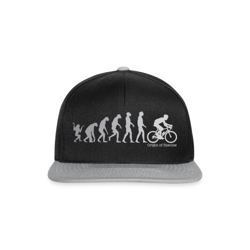 Evolution Cycling T Shirt - Snapback Cap