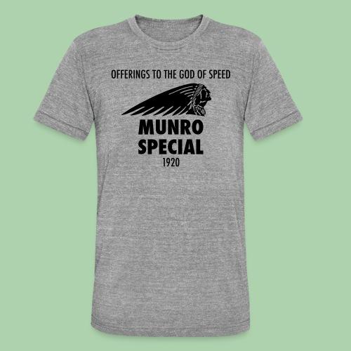 Munro special - Maglietta unisex tri-blend di Bella + Canvas