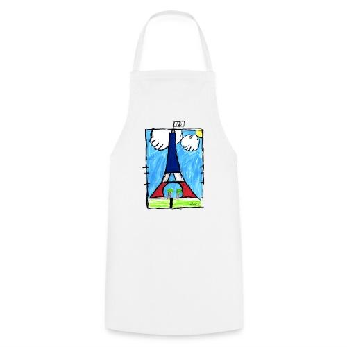 T-Shirt Homme Peace & Paris Tour Eiffel - Tablier de cuisine