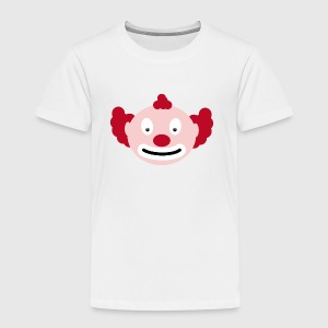 Rödhårig clown Babybody - Premium-T-shirt barn
