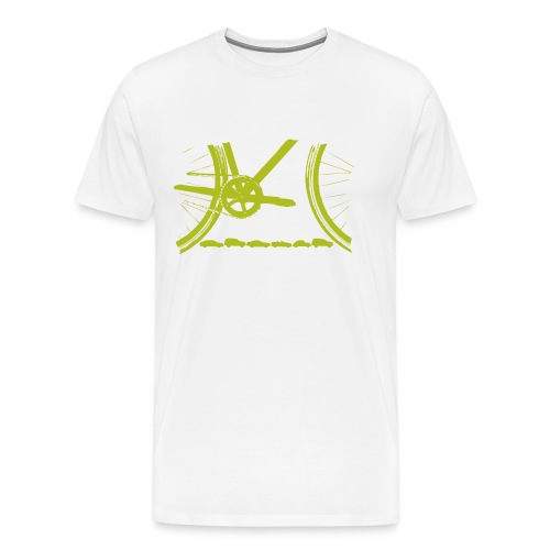 Bicycle Organic T Shirt - Men's Premium T-Shirt