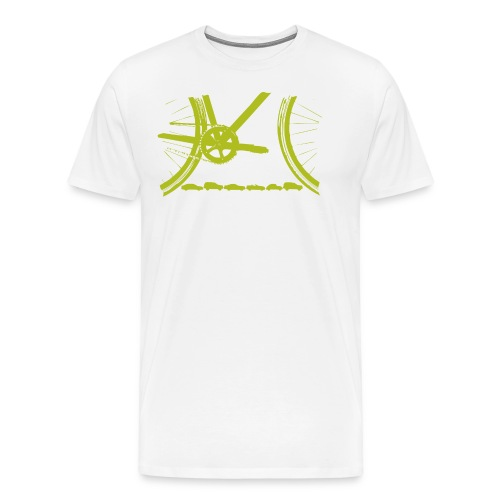 Bicycle Organic T Shirt - Men's Premium T-Shirt